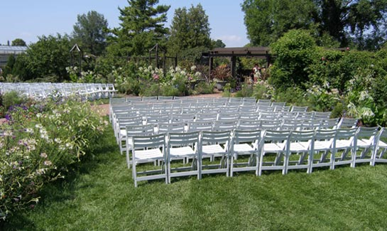 Event Garden With Chairs